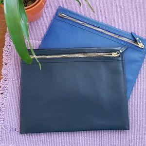 Neiman Marcus Leather Portfolio Case